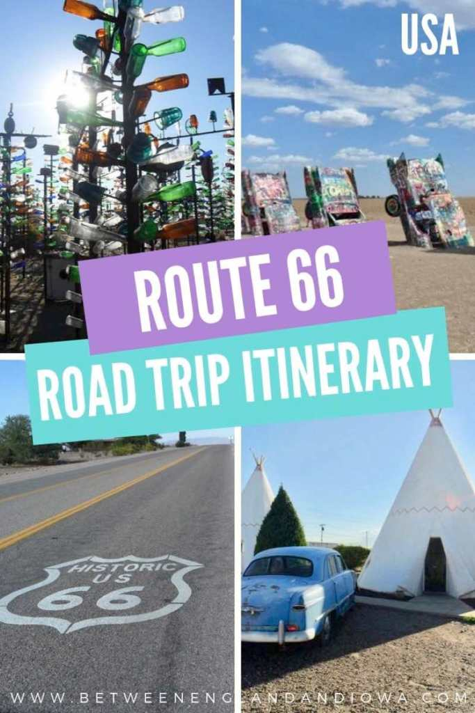 Route 66 Itinerary