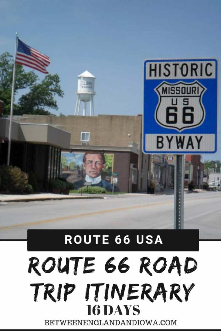16 Day USA Route 66 Itinerary.  How long does it take to drive Route 66?