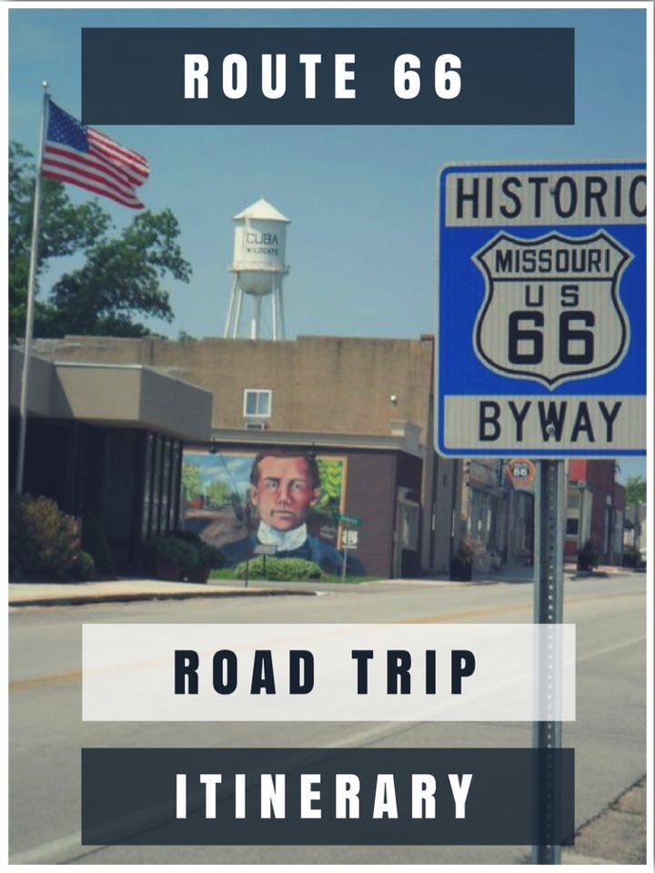 Route 66 Road Trip Itinerary