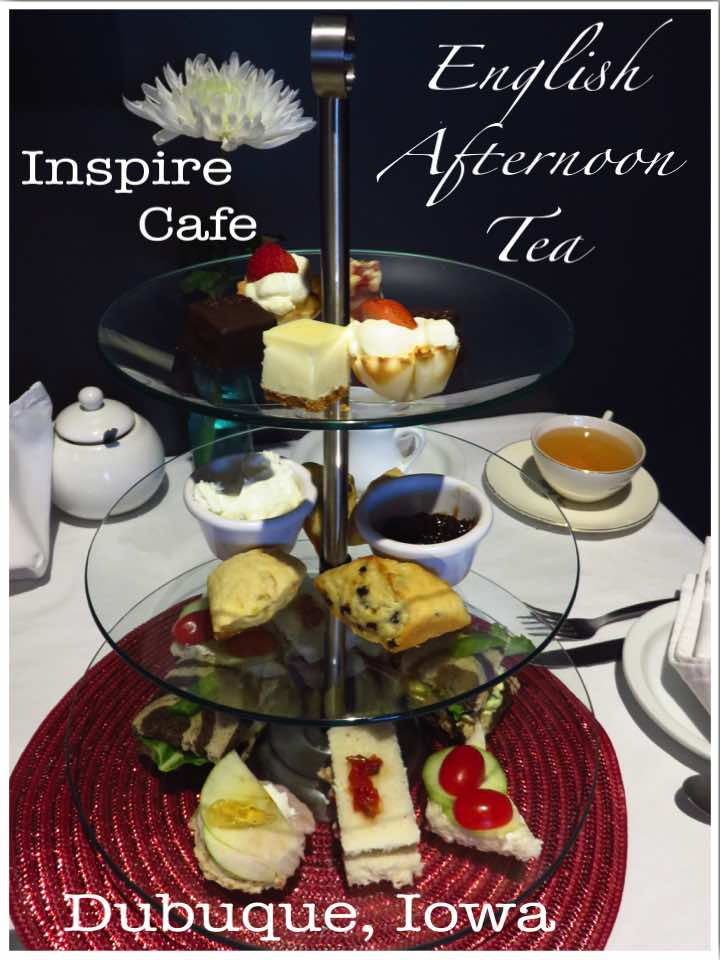 English Afternoon Tea, Inspire Cafe - Dubuque Iowa