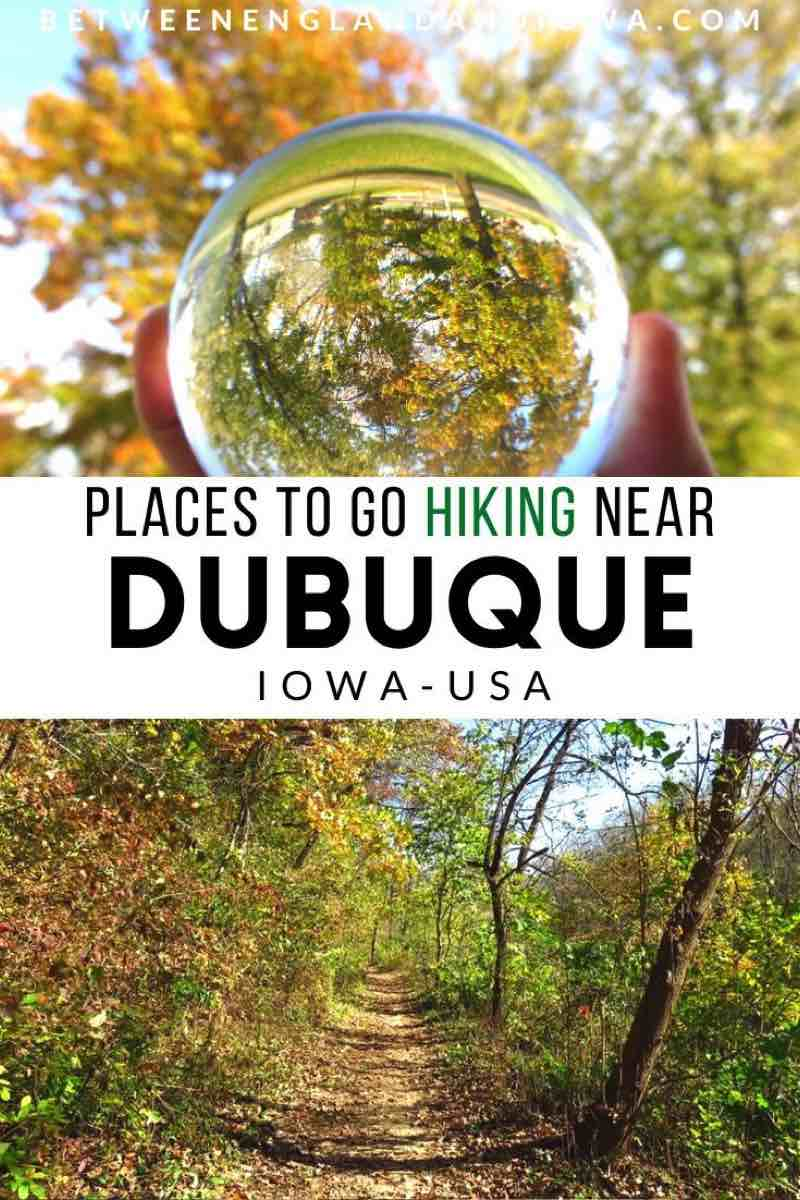 Places to go Hiking in Dubuque Iowa USA
