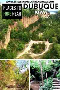 Places to go Hiking near Dubuque Iowa USA