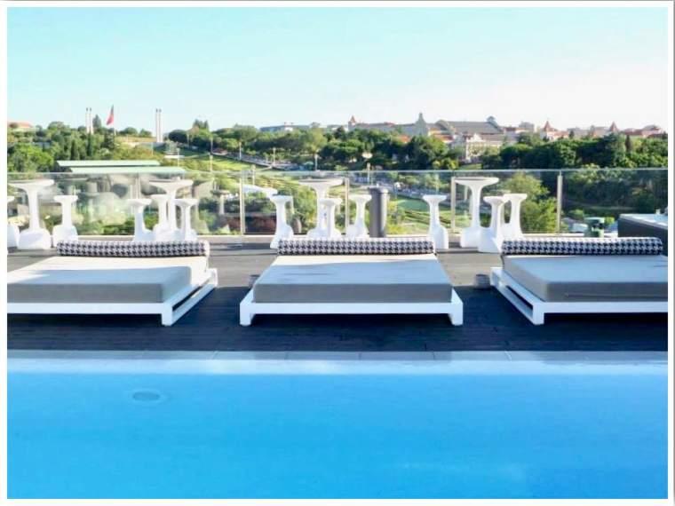 Lisbon Rooftop Pool