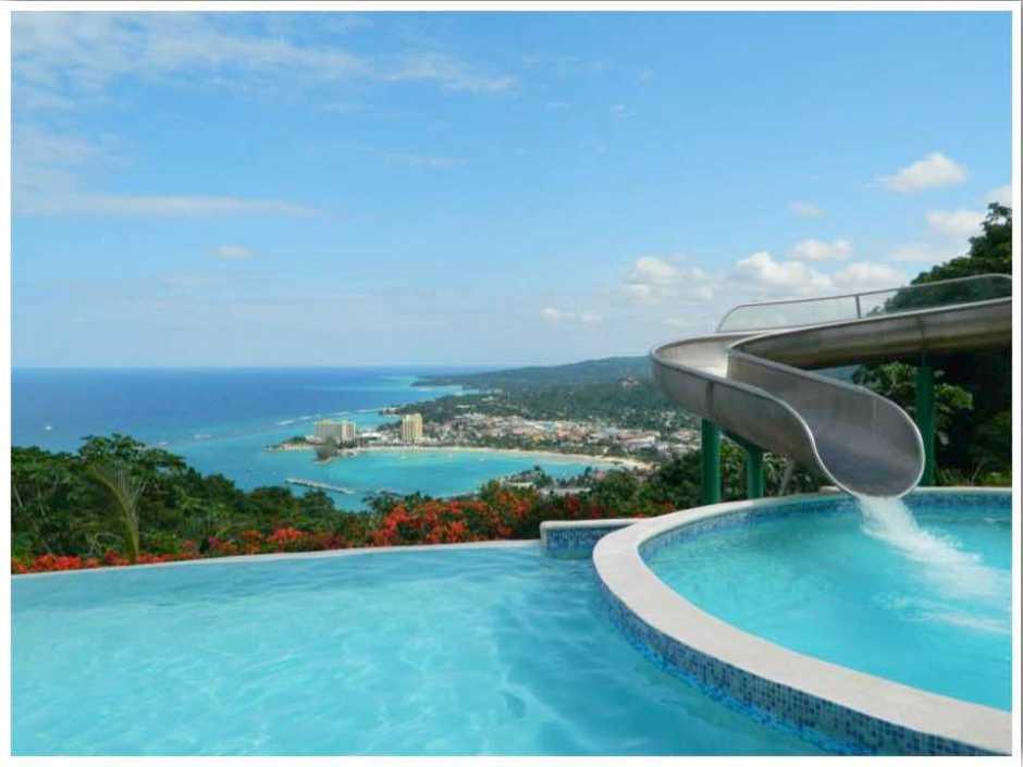 Mystic Mountain Infinity Pool Ocho Rios Jamaica