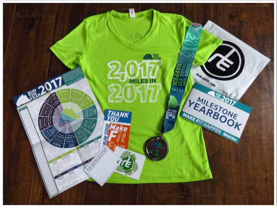 Run the Year 2017 Goodies