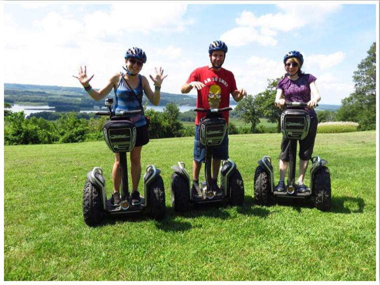 Chestnut Mountain Resort IL Segway Tour