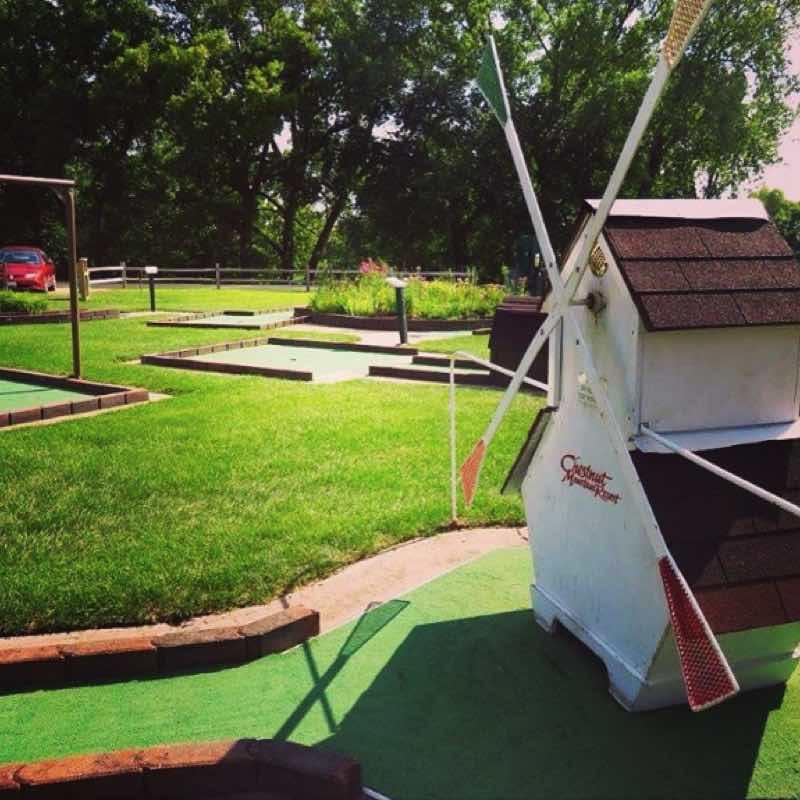 Chestnut Mountain Resort Mini Golf Illinois