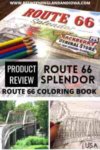 Route 66 Splendor: Route 66 coloring book review