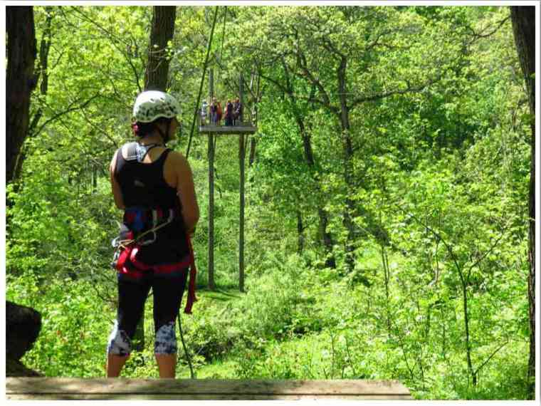 Sky Tours Zipline Dubuque
