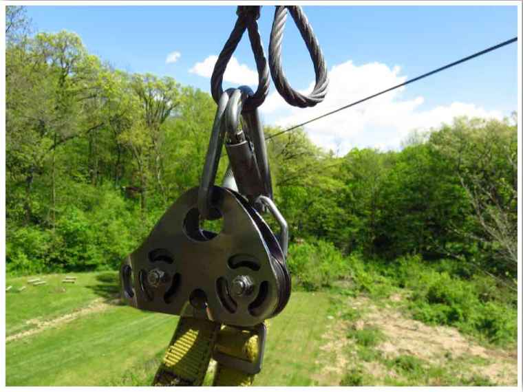 Sky Tours Zipline Dubuque Equipment