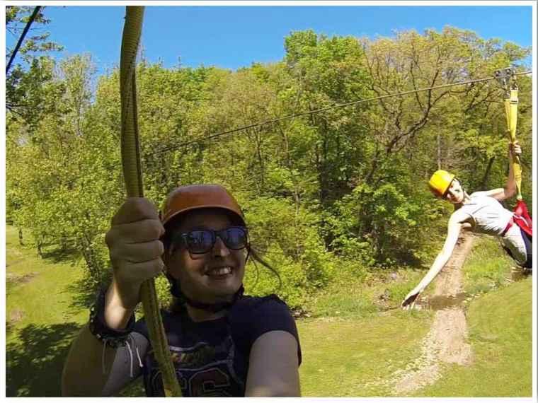 Sky Tours Zipline Racing Zipline