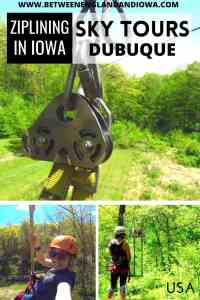 Sky Tours Dubuque Ziplining in Iowa USA