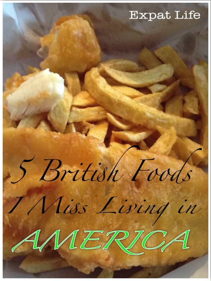 5 British Foods I Miss Living in America
