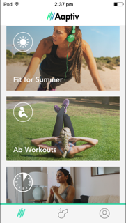 Aaptiv Guided Fitness App