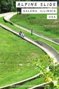 Alpine Slide Galena Illinois. 5 fun summer activities at Chestnut Mountain Resort USA