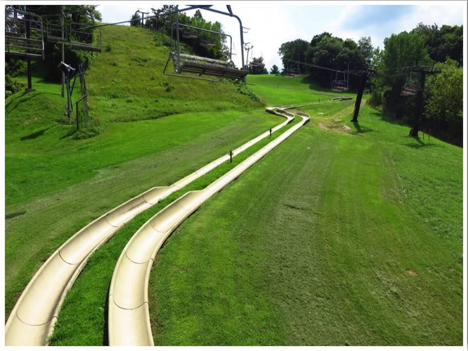 Chestnut Mountain Resort Galena Illinois Summer