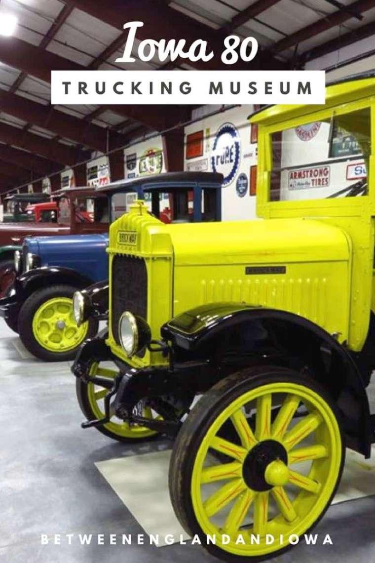 Iowa 80 Trucking Museum. Visiting the World's Largest Truck Stop in Walcott Iowa