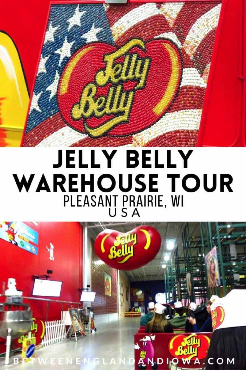 Jelly Belly Factory Tour Wisconsin USA