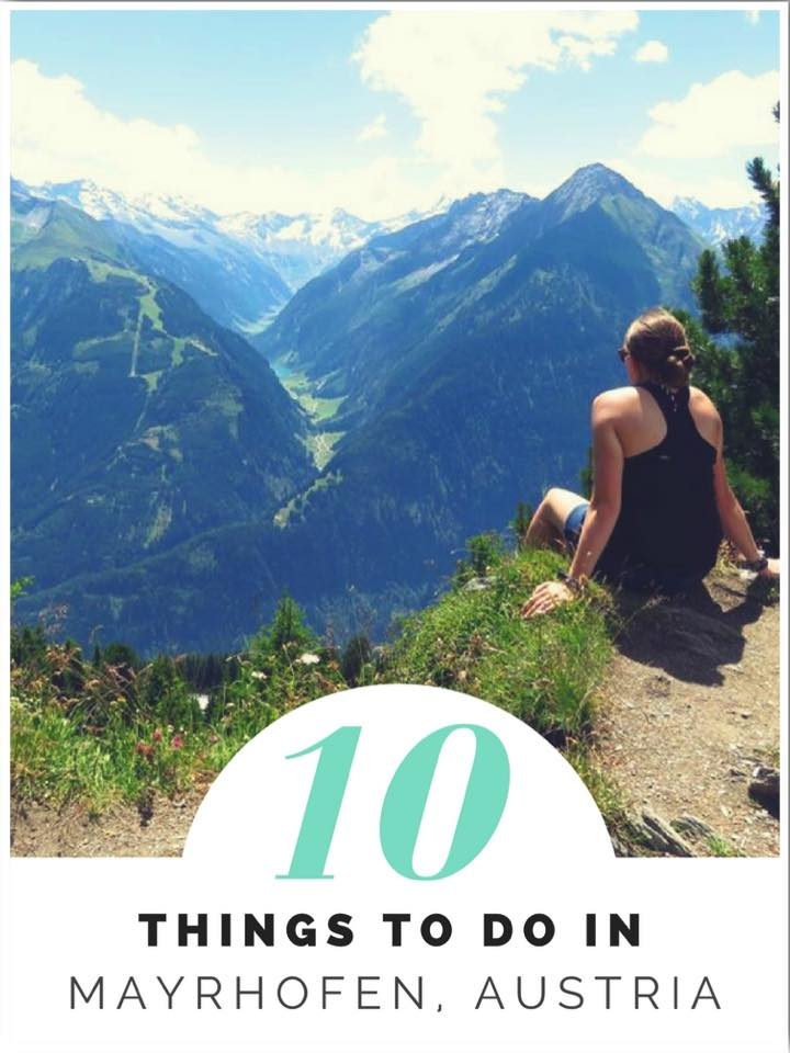 10 Things to do in Mayrhofen Austria