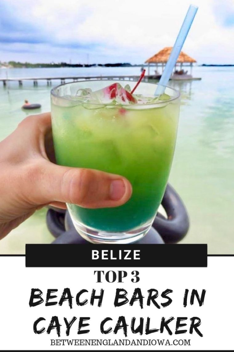 Caye Caulker Bars.  Top 3 bars you should visit in Caye Caulker Belize!