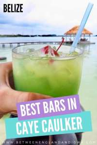 Caye Caulker Bars