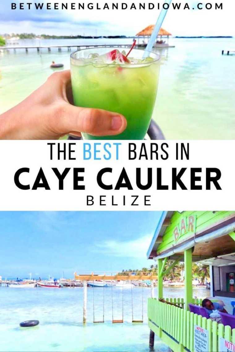 The best beach bars in Caye Caulker Belize