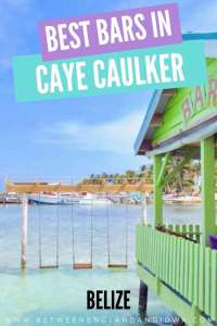 Caye Caulker Sip and Dip Belize