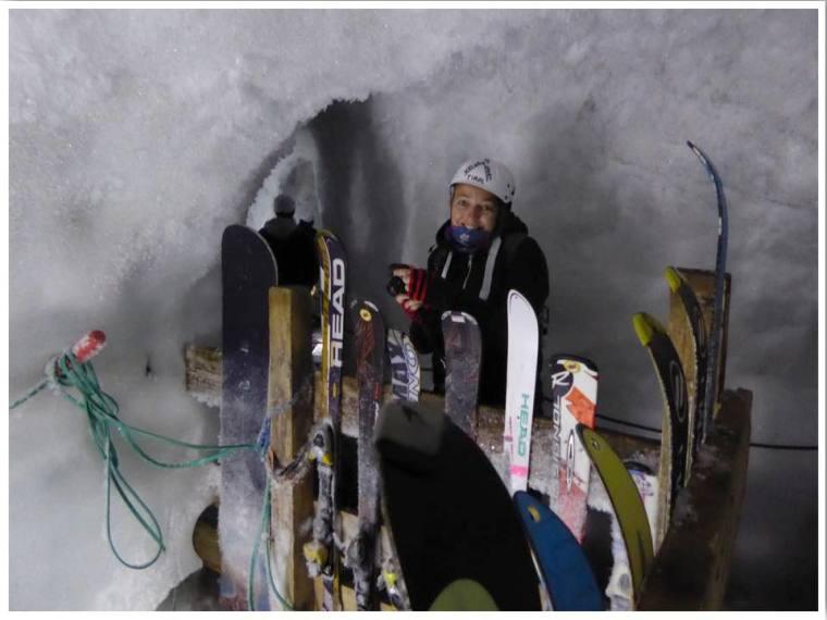Hintertux Glacier Ice Cave