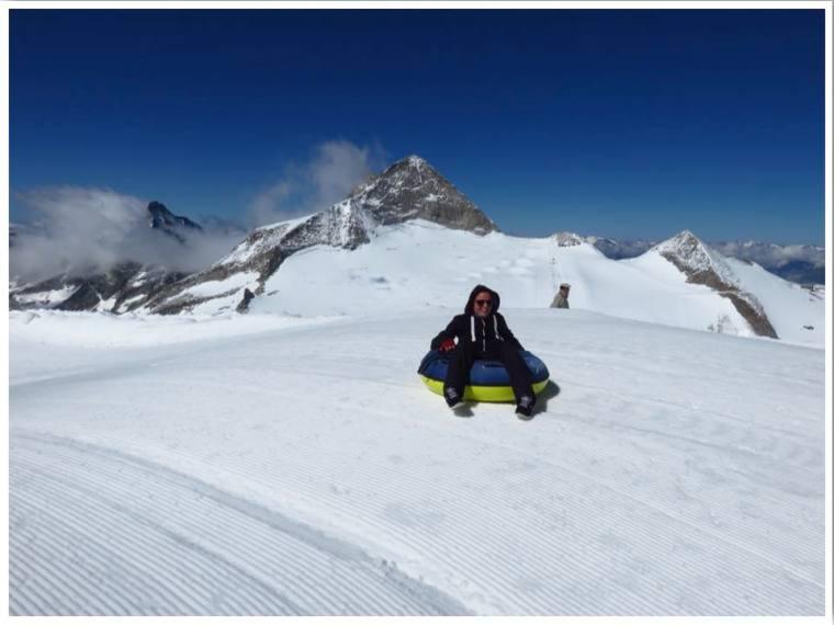 Hintertux Glacier Snow Tubing