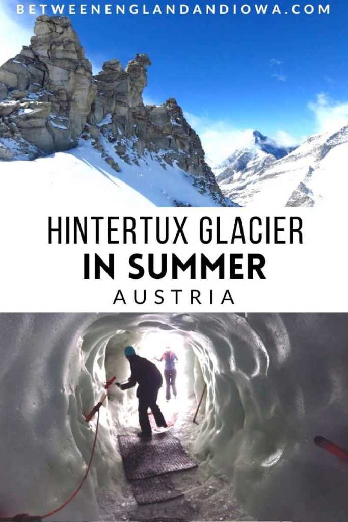 Hintertux Glacier in Summer, Austria
