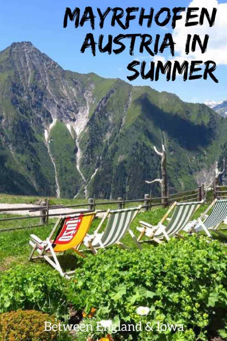 Things to do in Mayrhofen Austria in Summer.  Cool places in the Zillertal Valley, Tirol. #austria