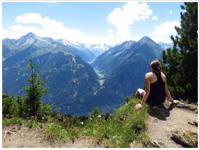 Mayrhofen Summer Penkenbahn Views