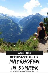 Located in the Zillertal Valley, here are 10 things to do in Mayrhofen Austria! Click for Mayrhofen summer travel inspiration!.