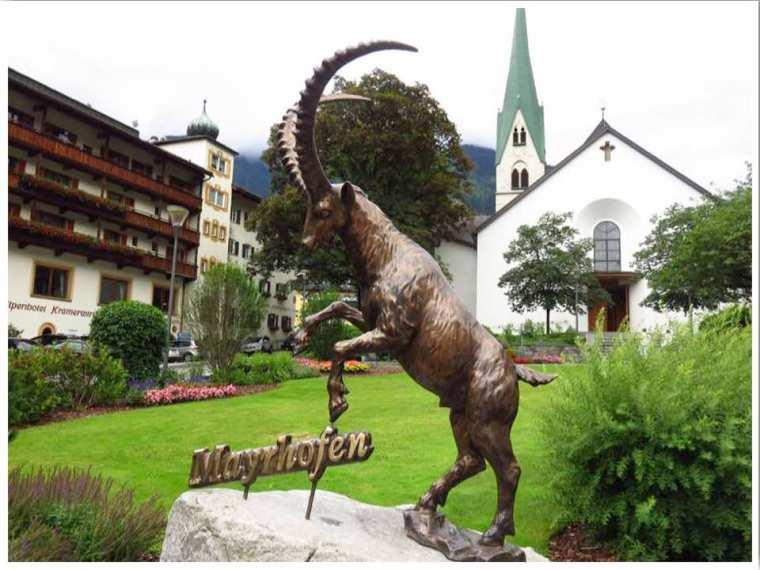 Mayrhofen Austria