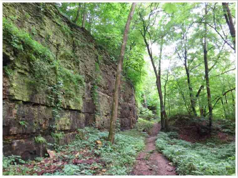 Devil's Staircase Trail Janesville WI