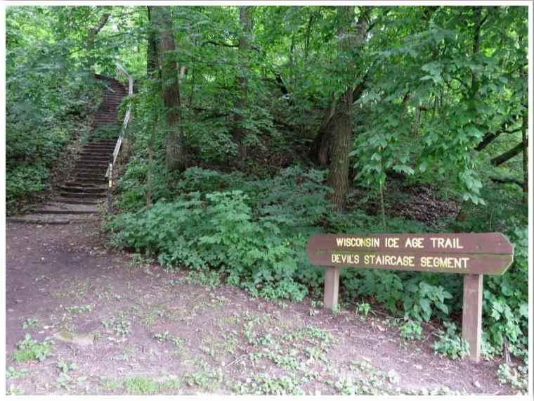 Devil's Staircase Trailhead Janesville WI