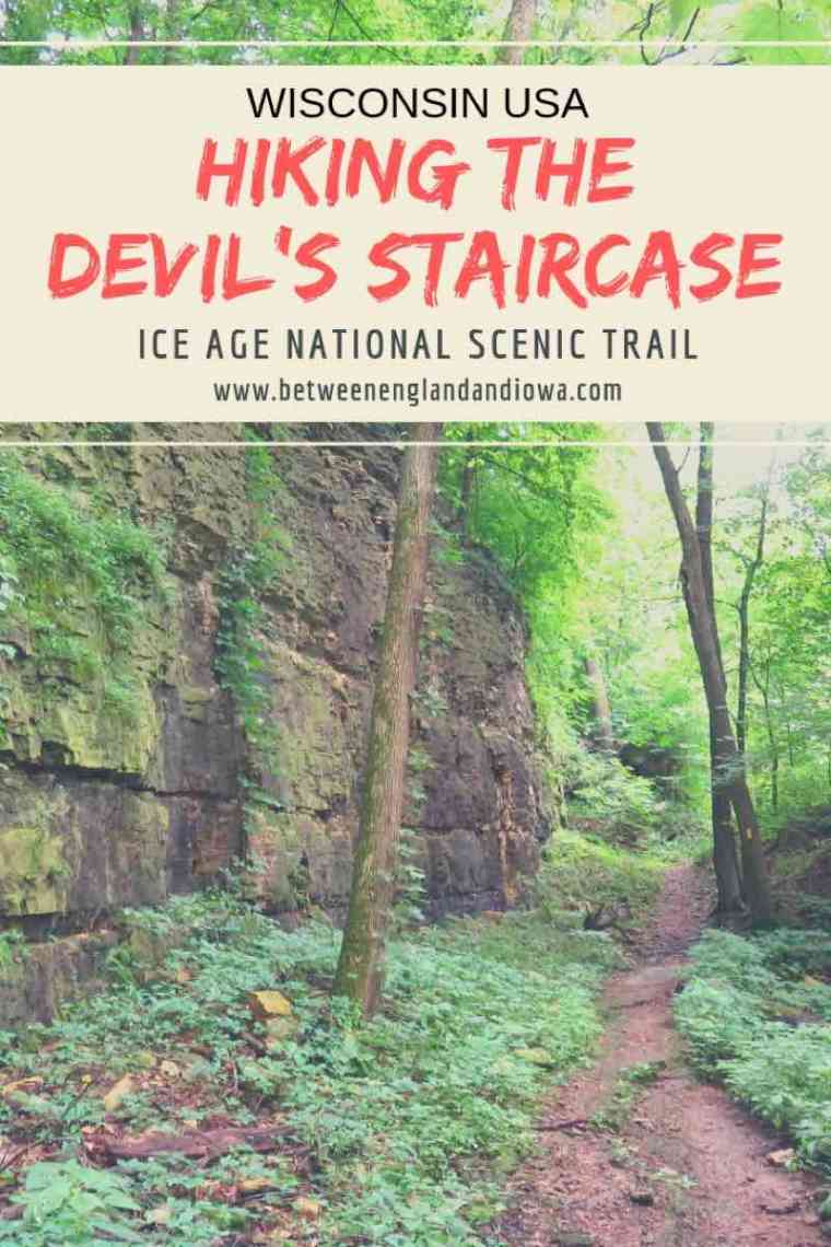 Hiking the Devil's Staircase Ice Age Trail Wisconsin