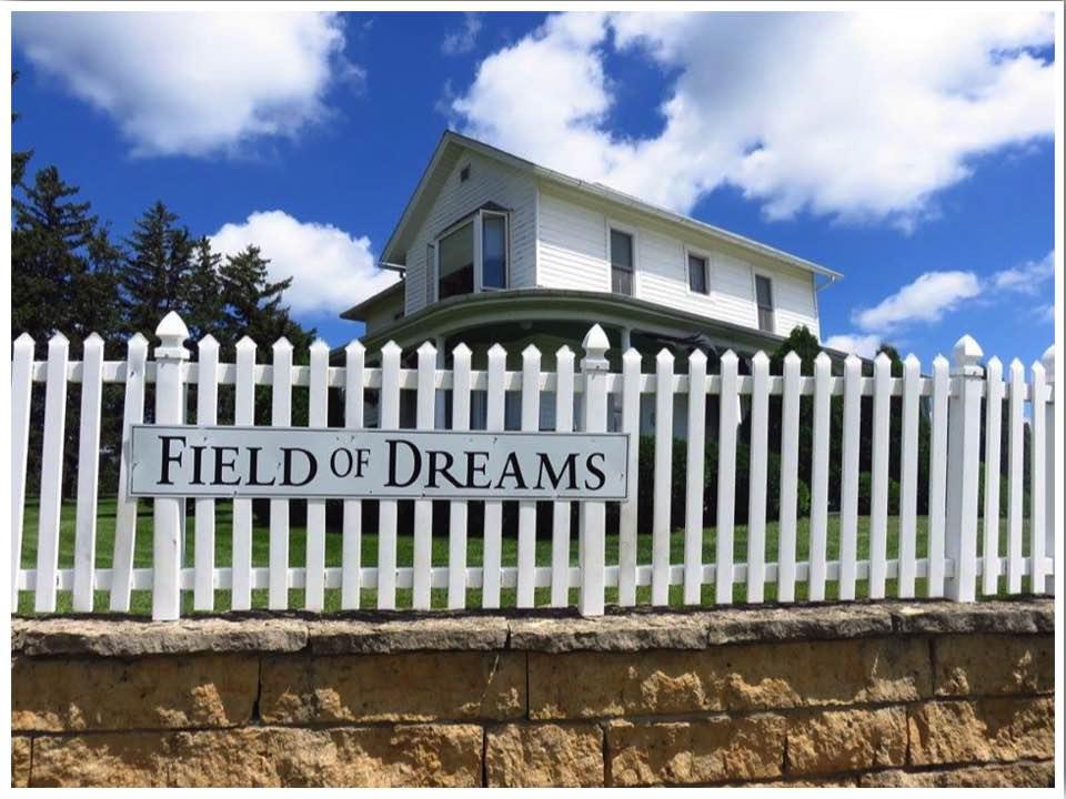 Field of Dreams Farmhouse in Dyersville Iowa USA