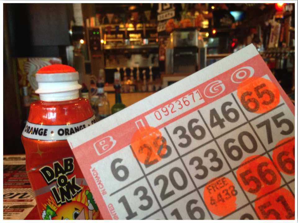 Mike's Chicken and Donuts Bingo