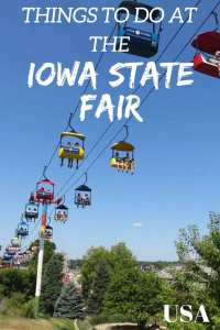 Things to do at the Iowa State Fair and tips on how to save money! Iowa USA