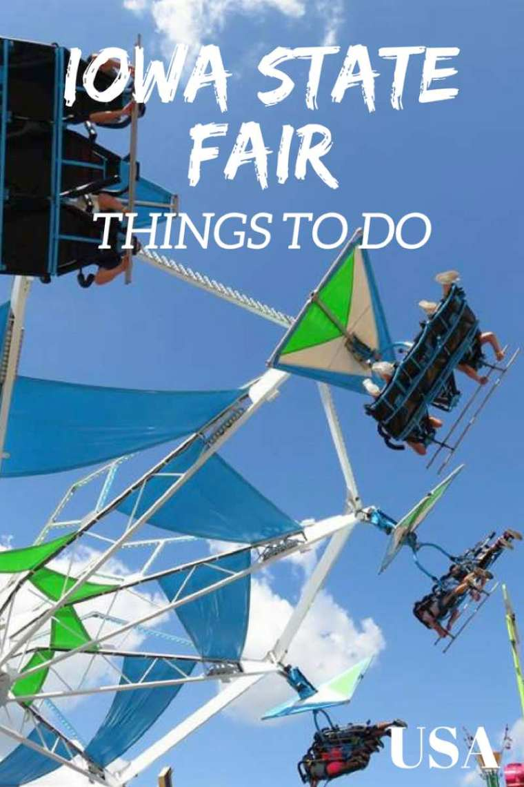 Things to do at the Iowa State Fair and budget tips for the Iowa State Fair!