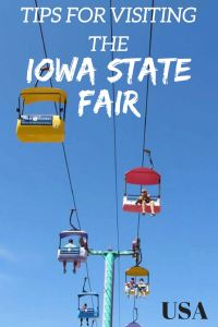 Tips for visiting the Iowa State Fair USA. Here are some things to do at the Iowa State Fair and a budget breakdown!