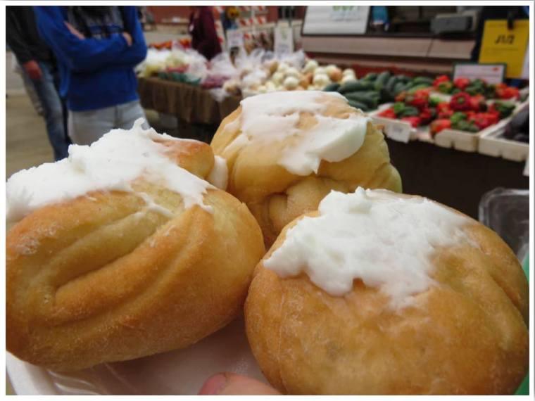 Dubuque Farmers' Market Kolaches