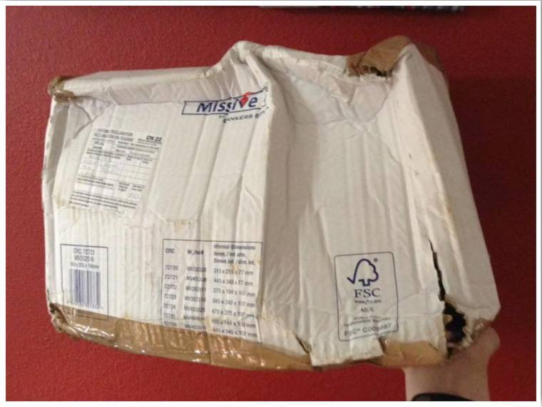 Package from home