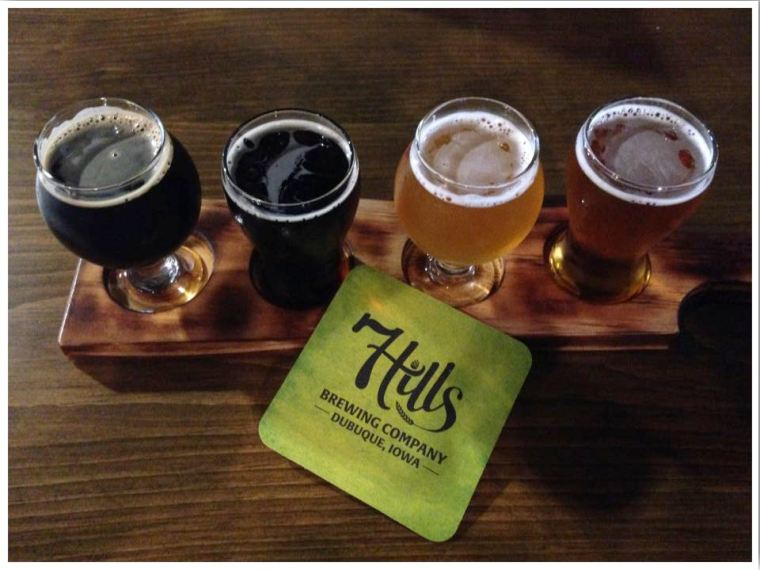 7 Hills Brewing Company Dubuque Iowa