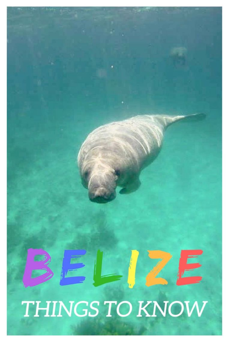 Belize Things to know before your trip! Handy advice and tips for a trip to Belize