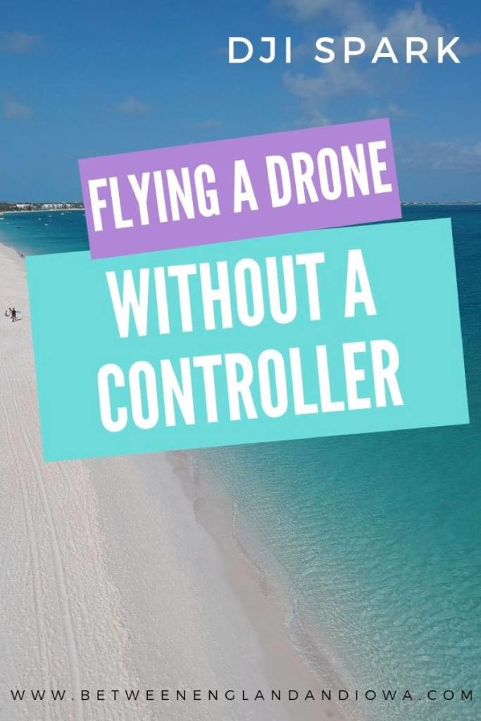 How to fly a DJI Spark without a controller