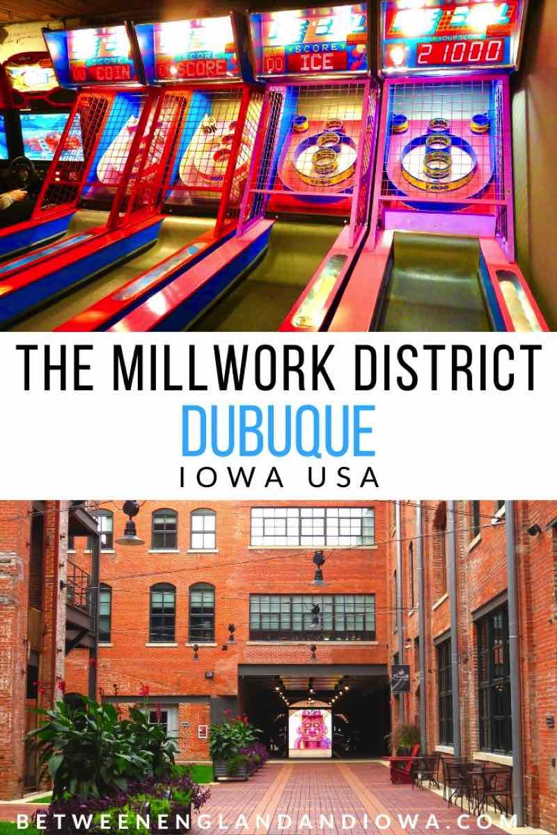 Dubuque Millwork District in Iowa USA