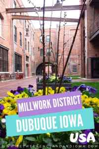 Millwork District Dubuque Iowa