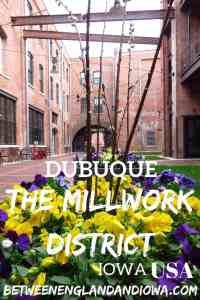 Things to do in the Historic Millwork District in Dubuque Iowa. Restaurants and bars in the Millwork District, East Iowa USA. The COOLEST area in Dubuque!
